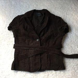 BCBG MaxAzria short sleeve blazer